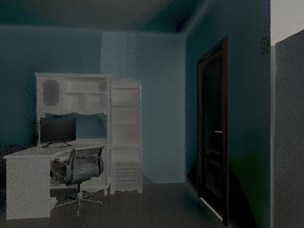 Lydia's Mini House Interior Design Render