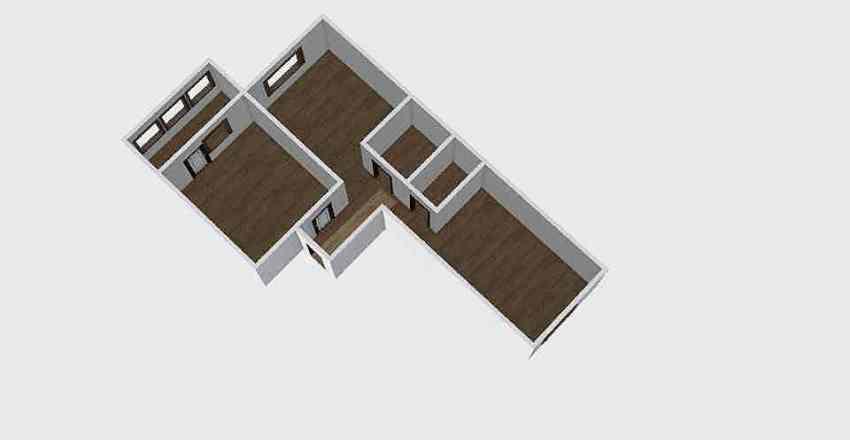2-комн_0328 Interior Design Render