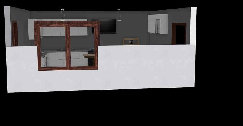 Mason Miele. Kitchen Interior Design Render