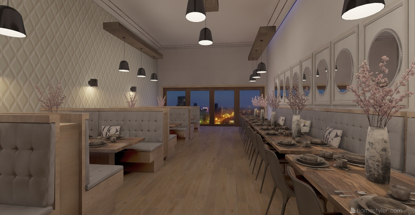 coffee Interior Design Render