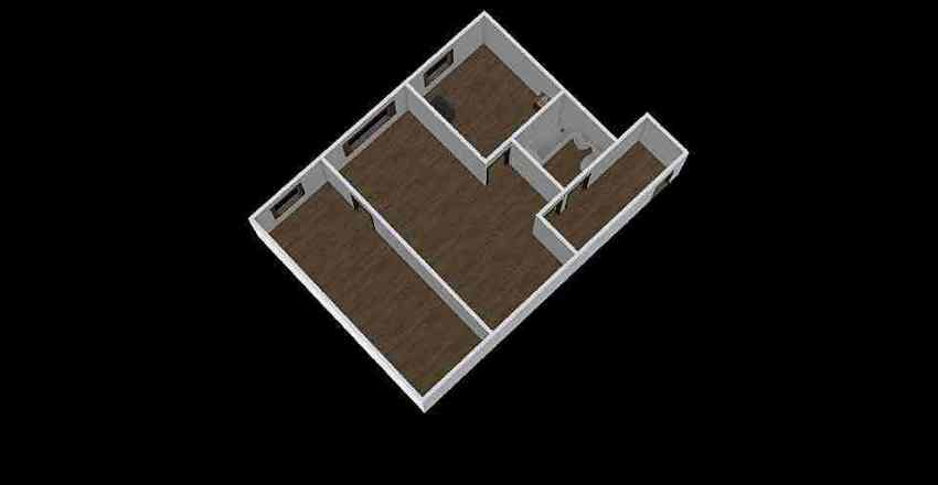 2-комн_002_1 Interior Design Render