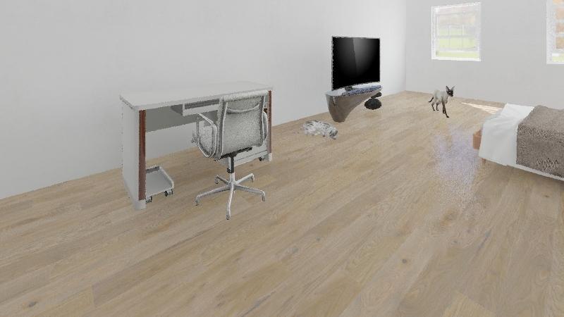 habitacion 1 Interior Design Render