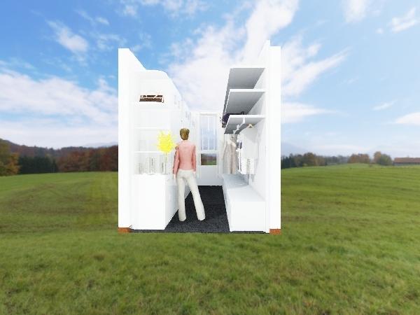 walkin-closet Interior Design Render