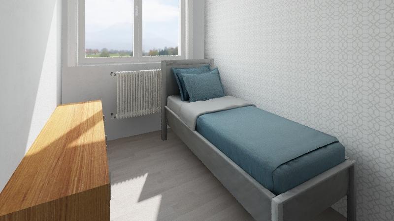 Pokój Amelki Interior Design Render
