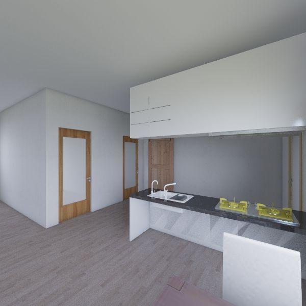 ウィズ平屋1LDK Interior Design Render