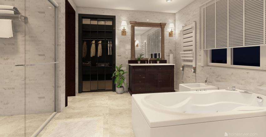 βιλα Interior Design Render