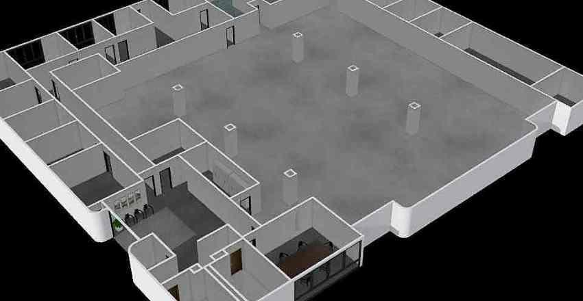 New Building_01 Interior Design Render