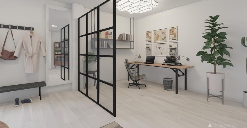 Multiple purpose room  Interior Design Render