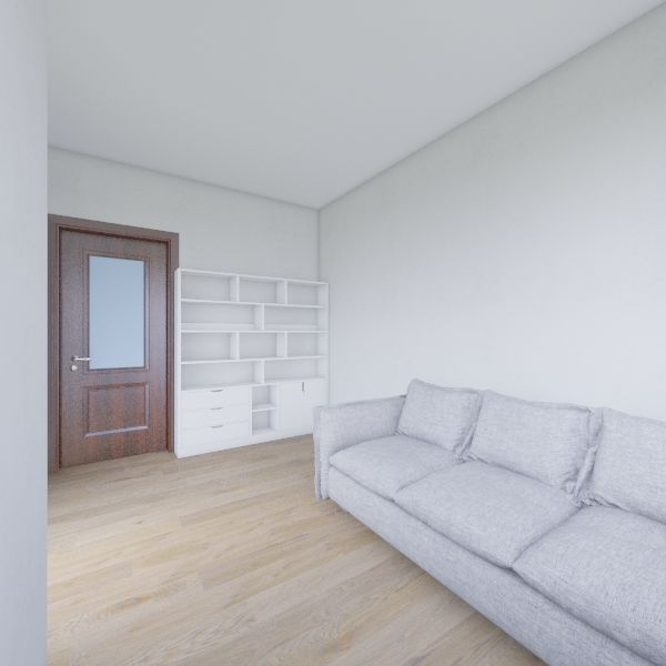 study Interior Design Render