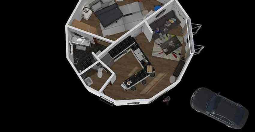 Sujet T402B V1 Interior Design Render