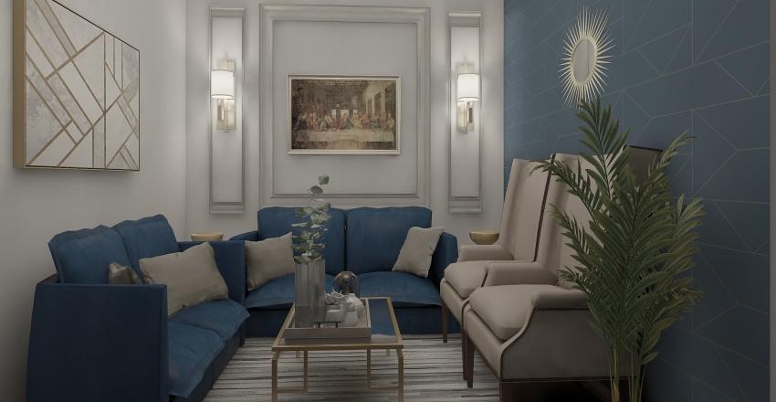 انترية  Interior Design Render