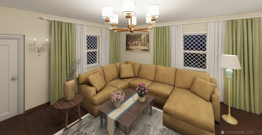 ESKİ ZAMANLAR Interior Design Render
