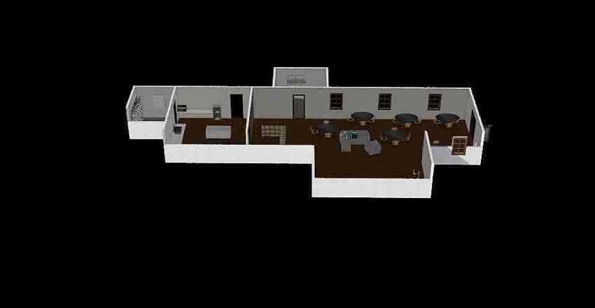 Yoden's Coffee Interior Design Render