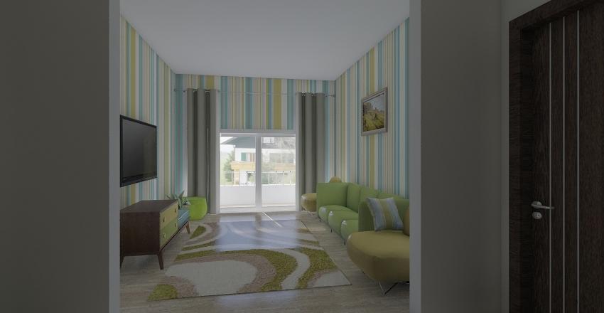 1 sf floor Interior Design Render