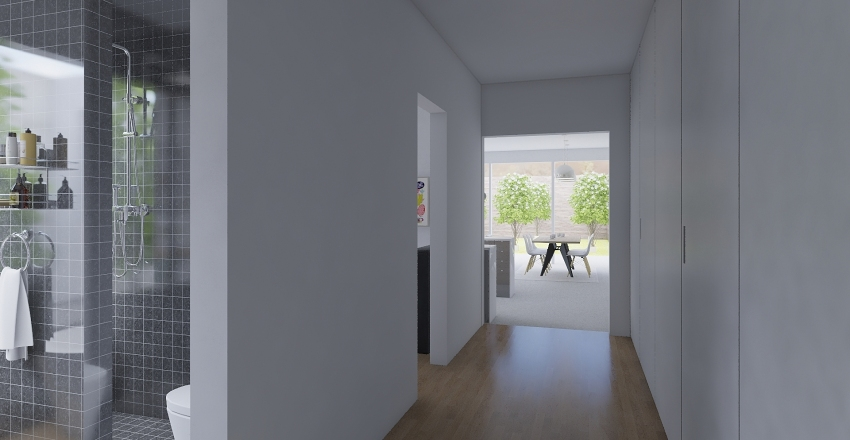 Accurate_two_courtyards_141119 Interior Design Render