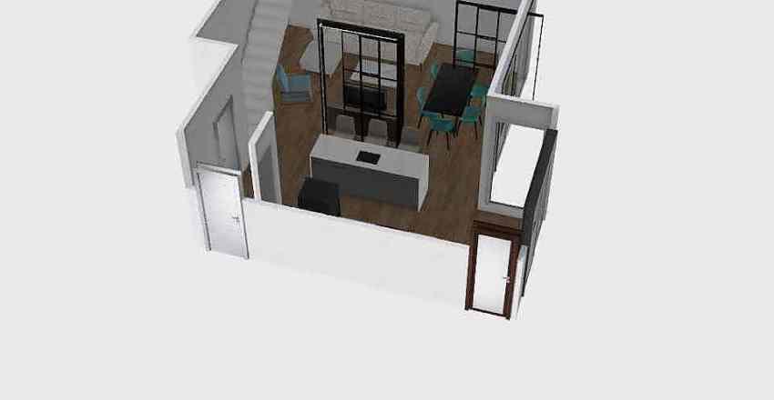 Cocina+salón_Jesus Interior Design Render
