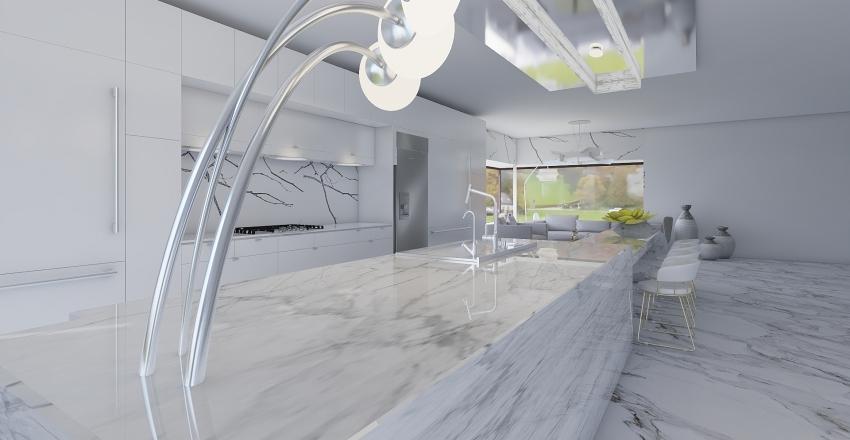 Marble house Interior Design Render