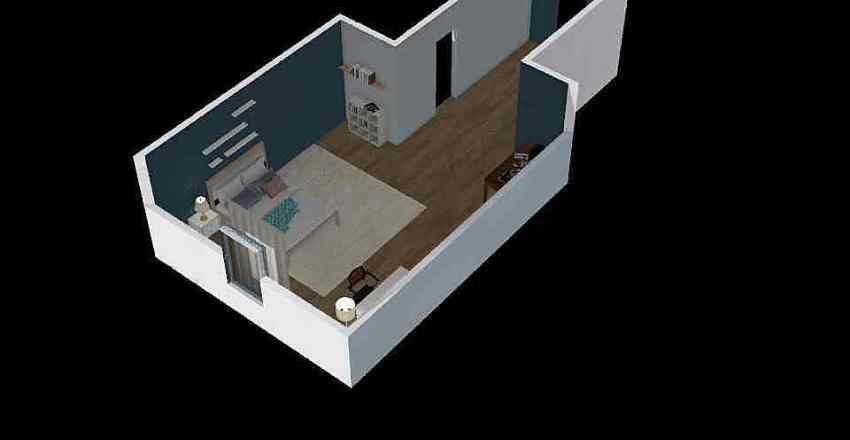 basement room Interior Design Render