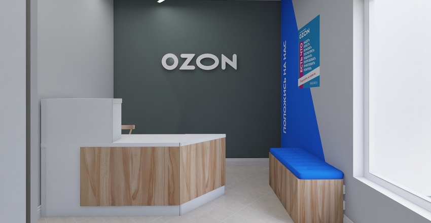 2OZON21 Interior Design Render
