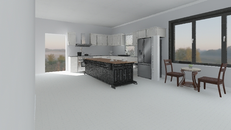 Kouzini Kitchen 1 Interior Design Render