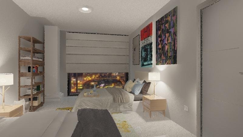 Small Apartment III Interior Design Render
