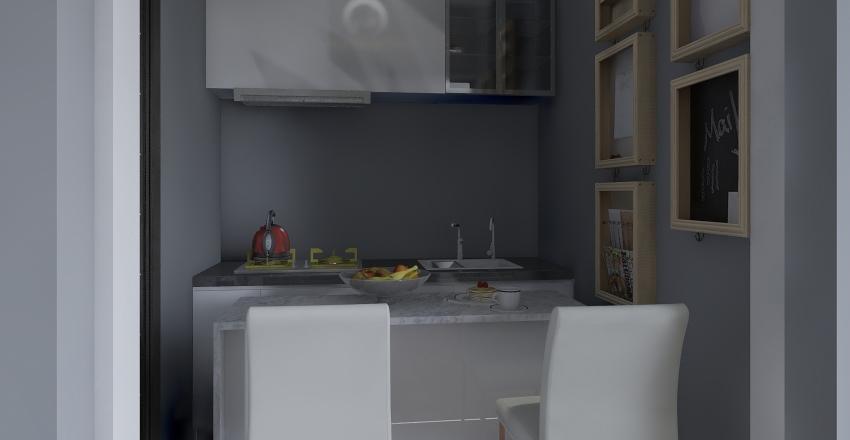 apartment 4 Interior Design Render