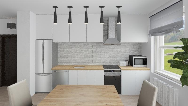 Mieszkanie Projekt 1,2 Interior Design Render
