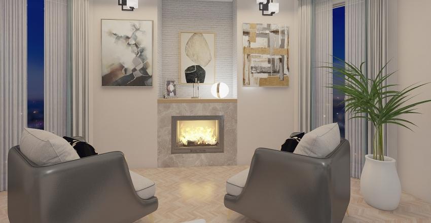 Renovated apartment in Roma Interior Design Render