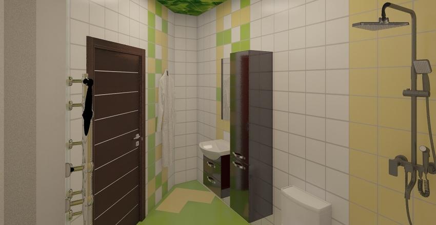 план 2 Interior Design Render