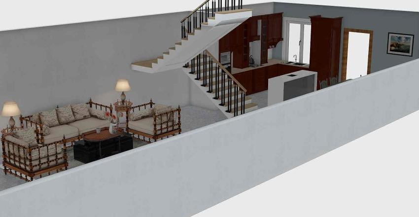 5.25x15 Interior Design Render