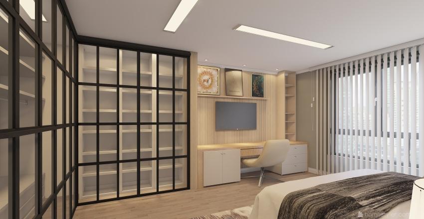 Apt. Canoas Interior Design Render