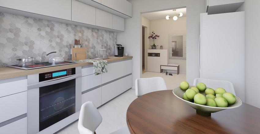 Jurgitos butas Interior Design Render
