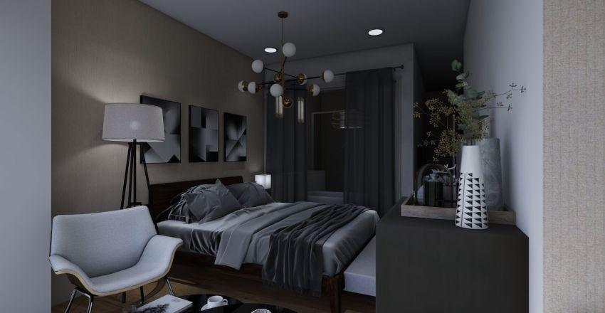 3room Interior Design Render