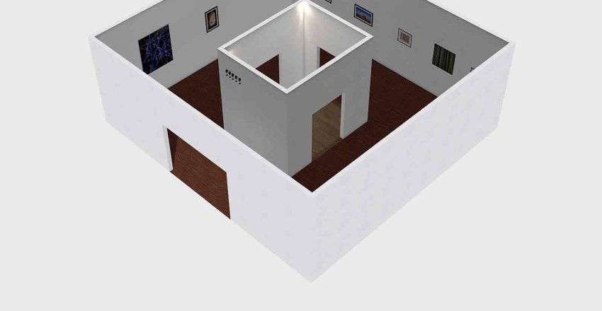 moldova Interior Design Render