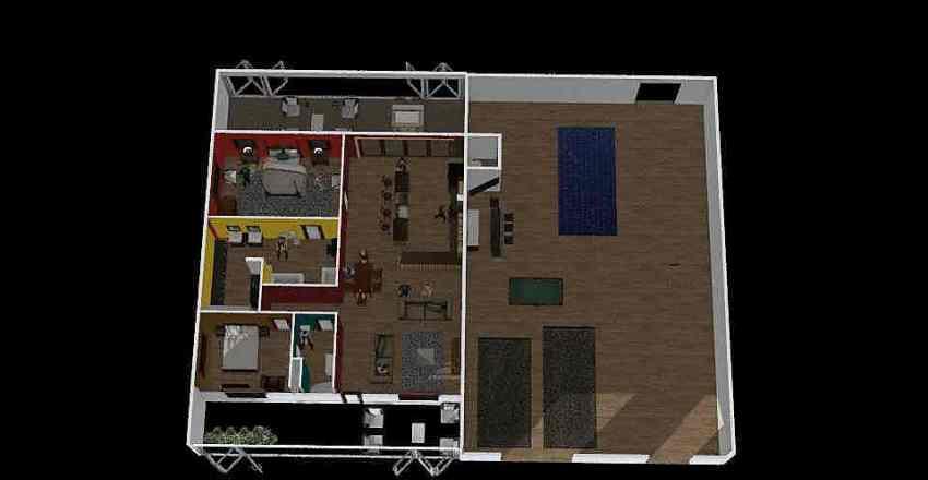 40X40 House Plan 2018 Interior Design Render