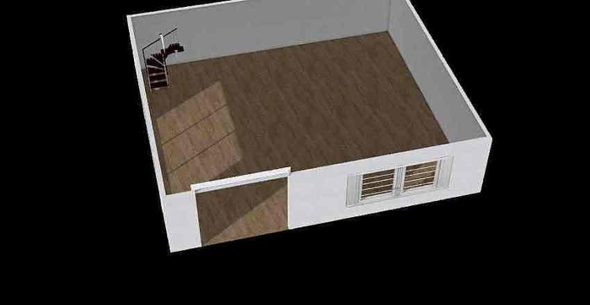 újerdő Interior Design Render