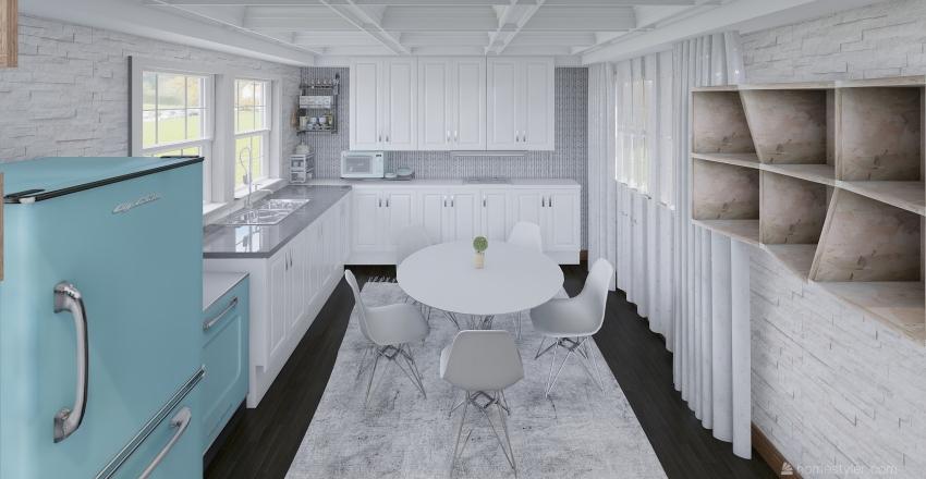MİNİK VE TATLI Interior Design Render