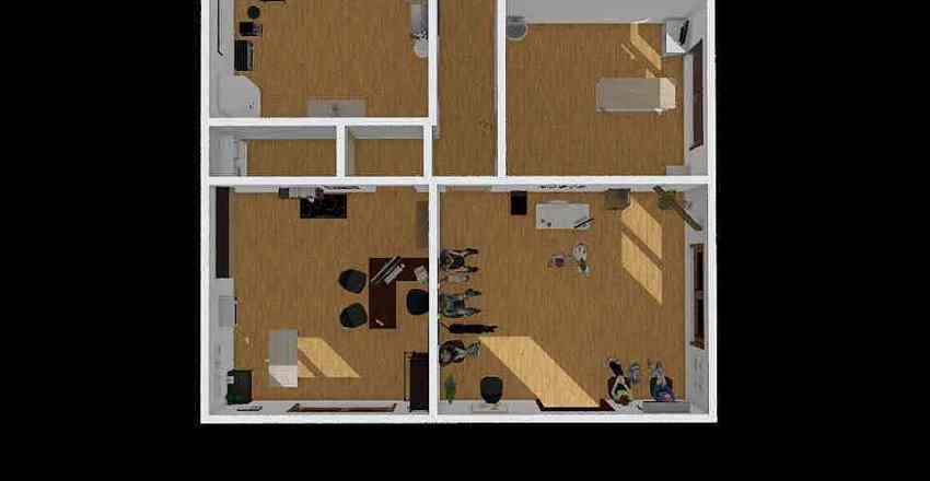 AlmaVet Interior Design Render