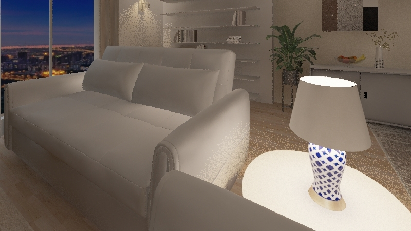 Natural Modern HD Interior Design Render