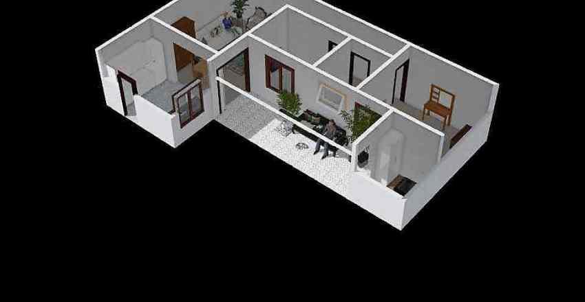 Casa SJRP Completa Interior Design Render