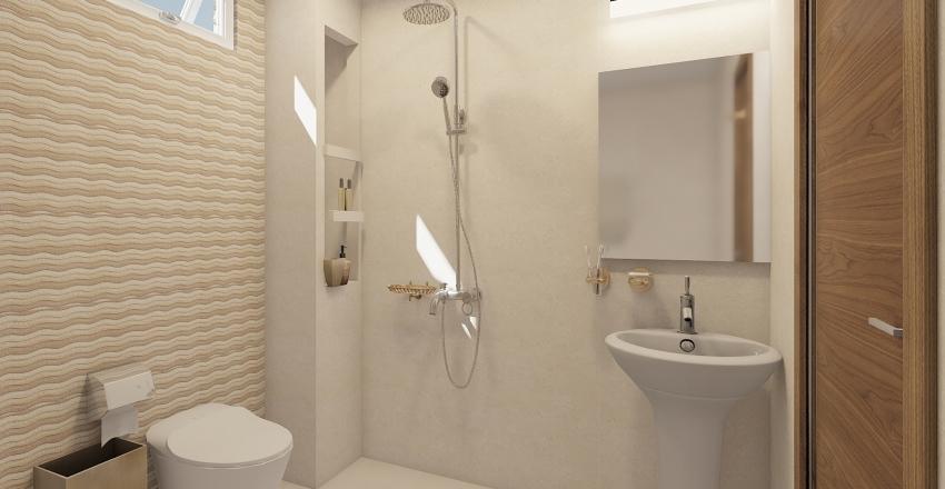 2.  GUEST TOILET P101 Interior Design Render