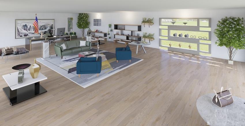 Bottega Venneta Interior Design Render