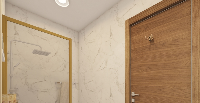 1.  MASTER TOILET P101 Interior Design Render