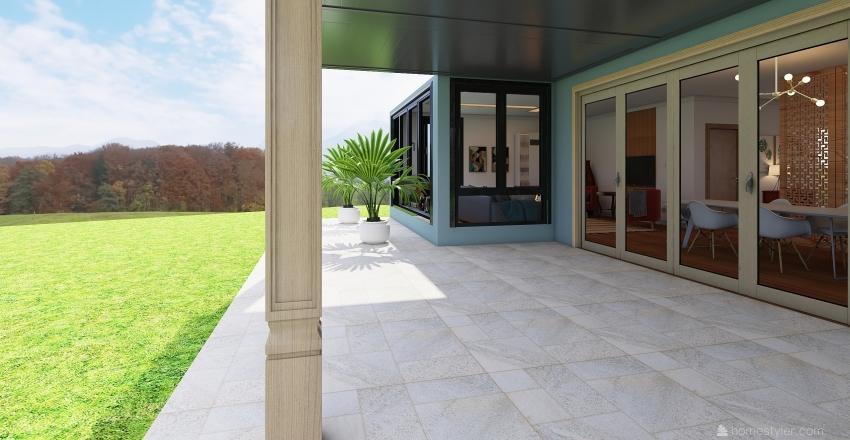 West Honestly Interior Design Render