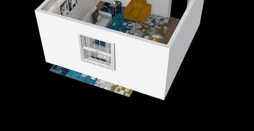living room OSO Interior Design Render