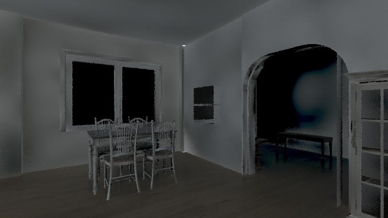 Casa tecate Interior Design Render