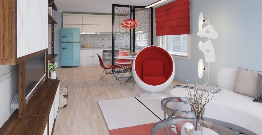 project 01 Interior Design Render