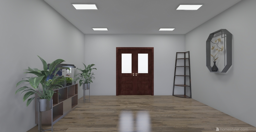 NHÀ CHUNG CƯ Interior Design Render