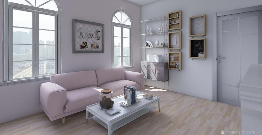 apartment 3 Interior Design Render