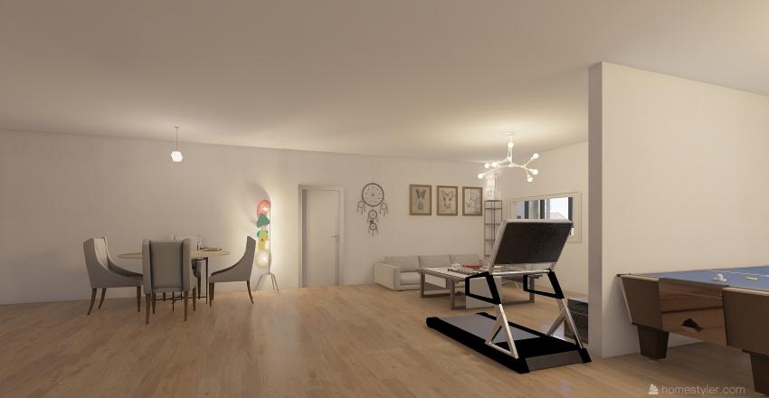 有錢人的家 Interior Design Render